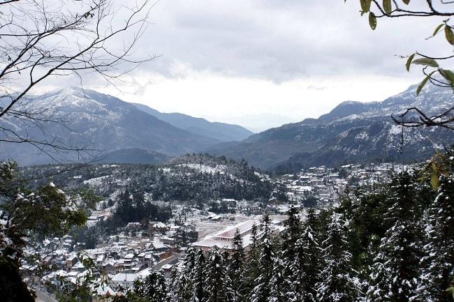 sapa-snowing